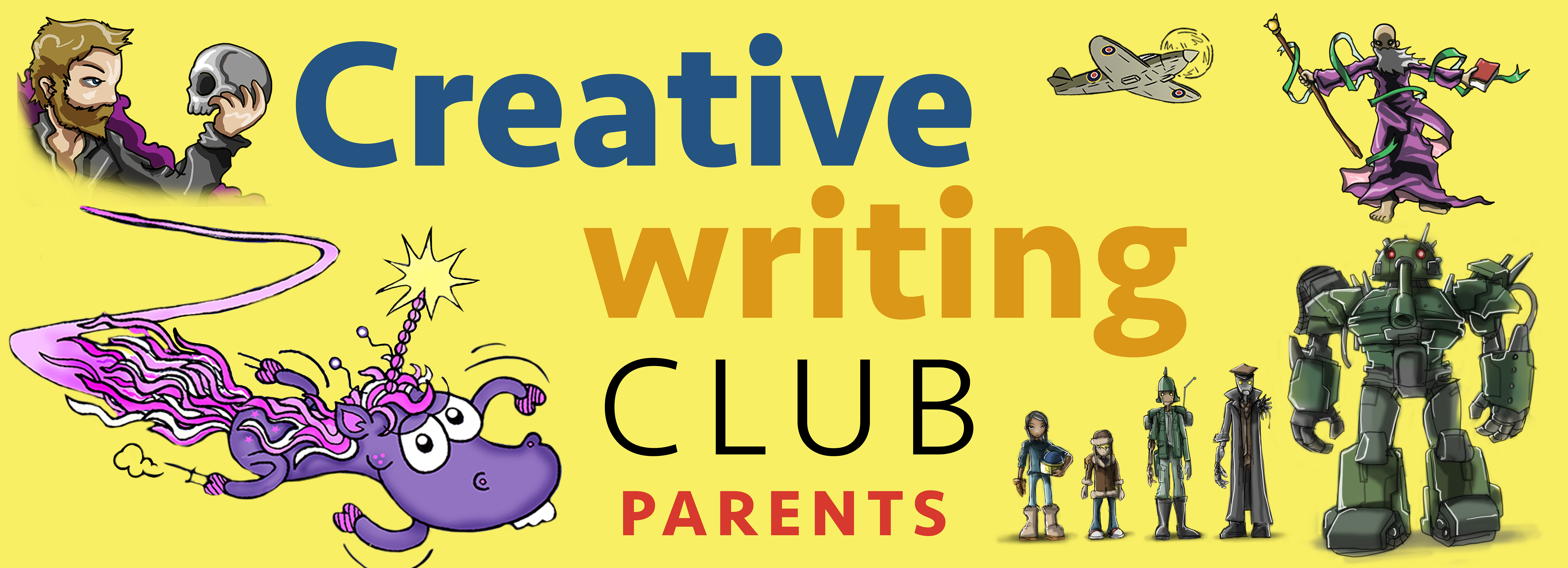 Creative Writing Club - parents edition