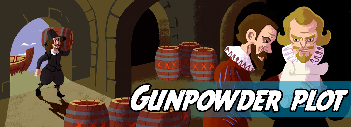 Write a story about The Gunpowder Plot
