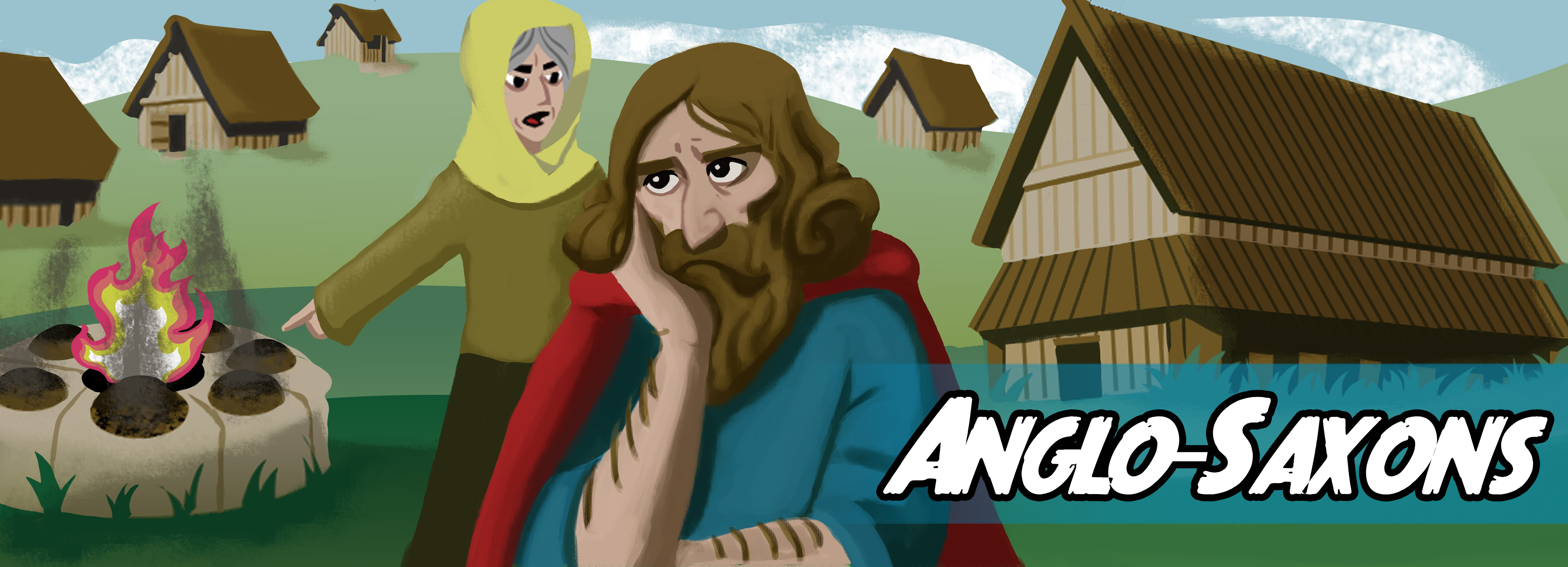 Write your own story about the Anglo Saxons