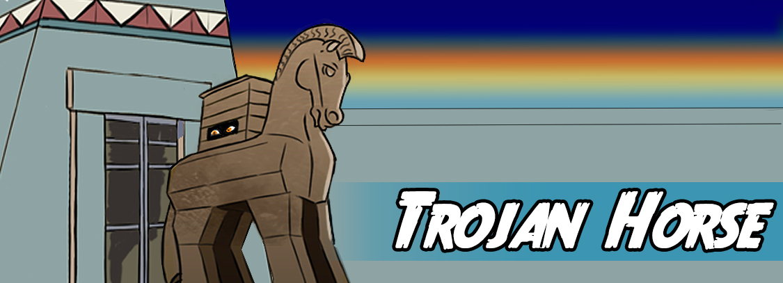 Write a story about the Trojan horse
