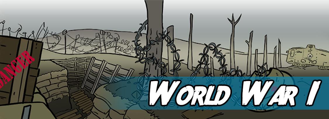 Write a story about World War 1