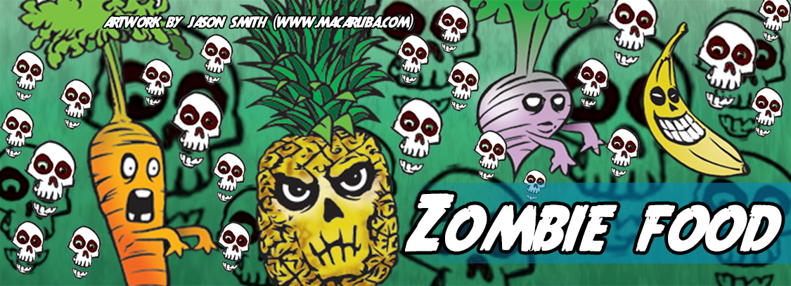 Write a story about Zombie Food!