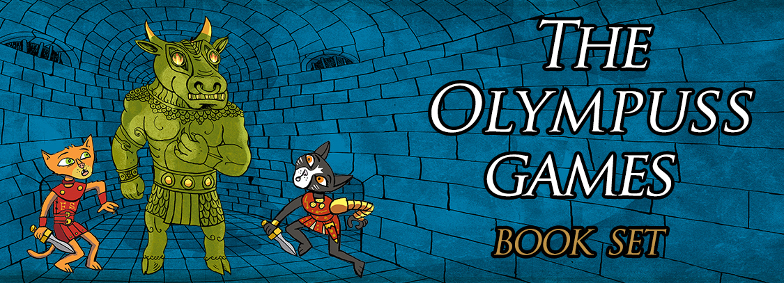 The Olympuss Games book set