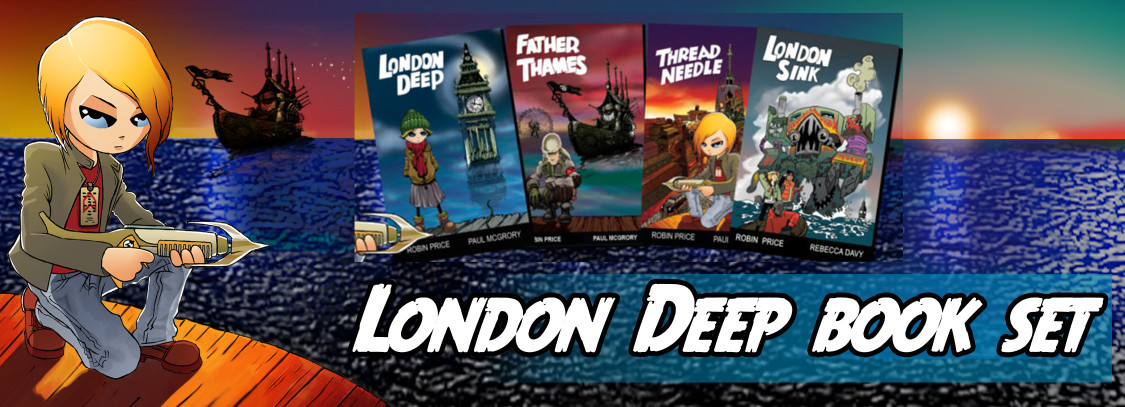 London Deep book set
